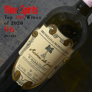 Madonna delle Grazie 2015 is one of the Top 100 Wines of 2020 according to Wine&Spirits