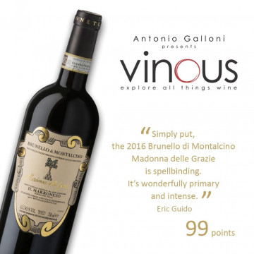 Madonna delle Grazie rated 99 points by Vinous