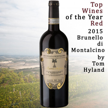 Madonna delle Grazie is one of the Top Wines of the Year by Tom Hyland