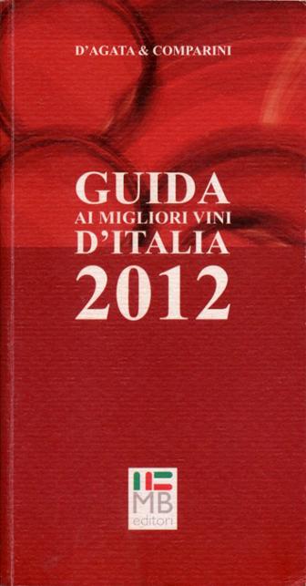 guida ai migliori vini d'italia 2012 cop