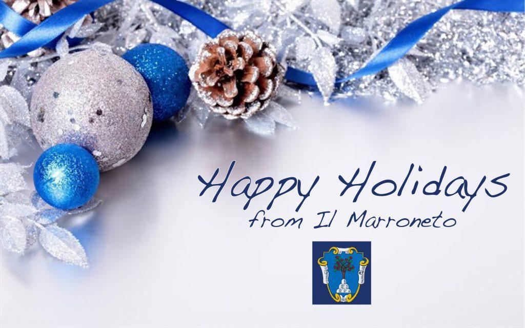 happy holidays marroneto